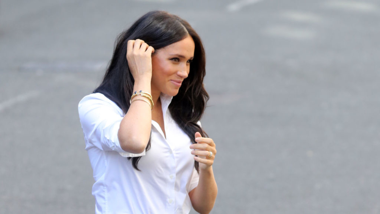 Meghan Markle Looks Amazing Heading Back At Work After Maternity Leave