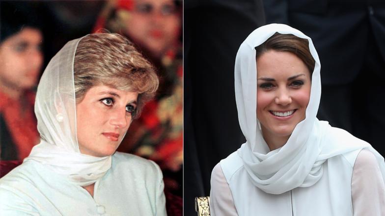 Every Time Kate Middleton & Meghan Markle Channeled Princess Diana's Style