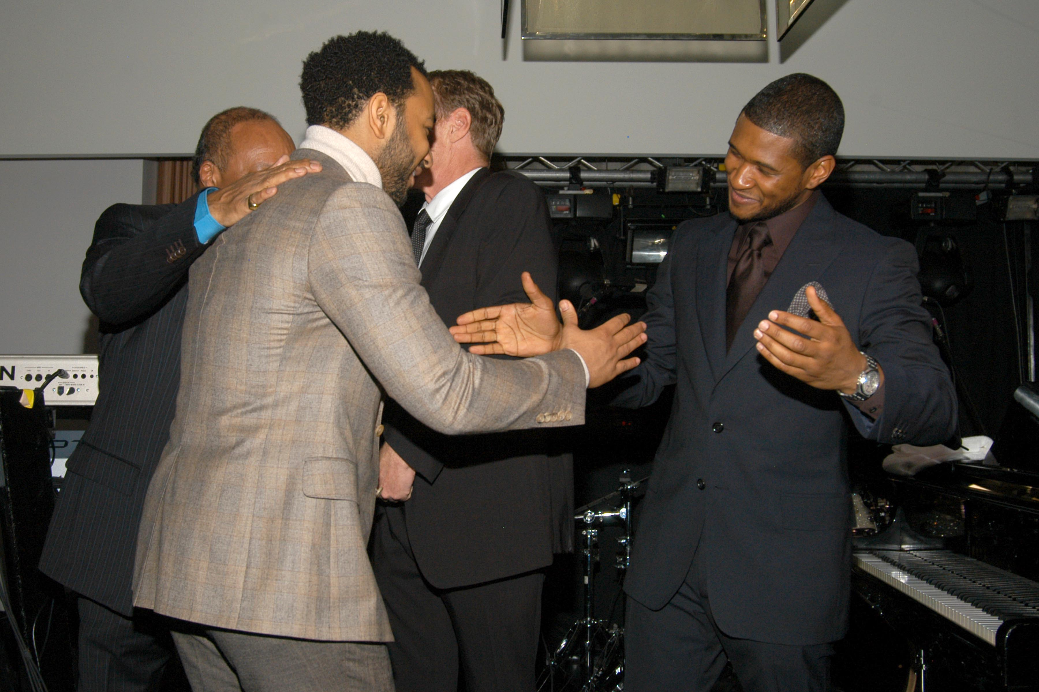 John Legend and Usher