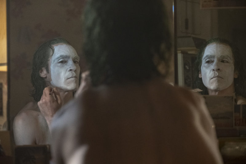 JOAQUIN PHOENIX as Arthur Fleck, aka Joker