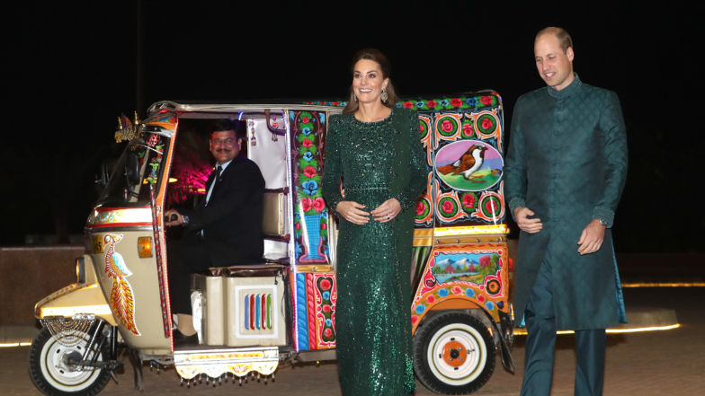 Kate Middleton Brings All The Color For Pakistan Royal Tour Style
