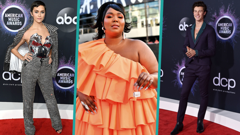 2019 American Music Awards Fashion Is All About The Sparkle And Shine