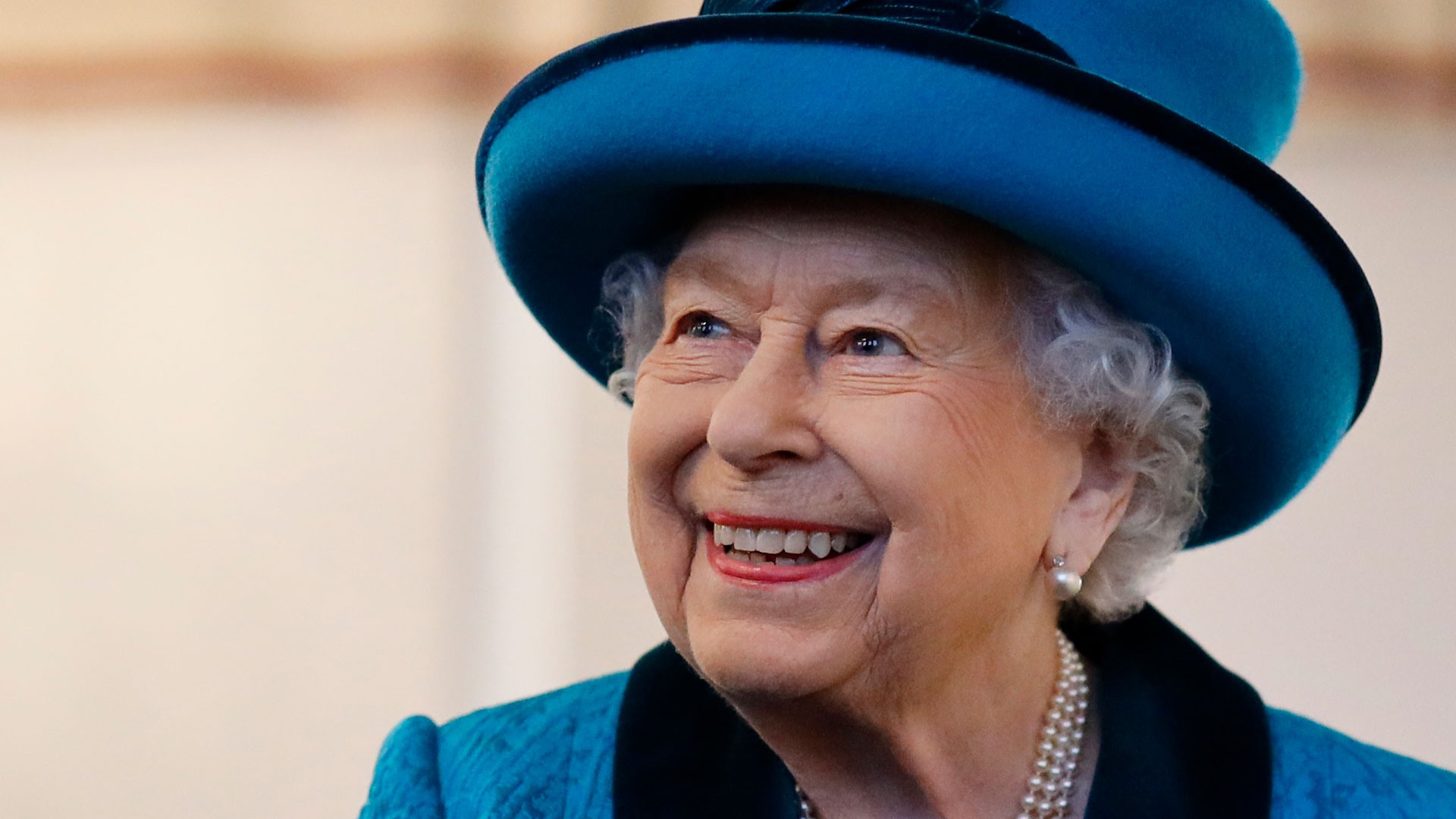 Queen Elizabeth Beams During Royal Outing Amid Prince