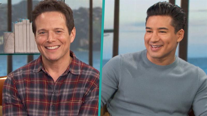 Mario Lopez Reminisces About Working With Scott Wolf On Saved By