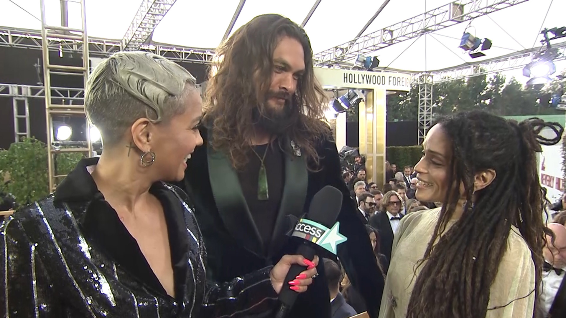 Jason Momoa Calling Lisa Bonet My Love In This Interview