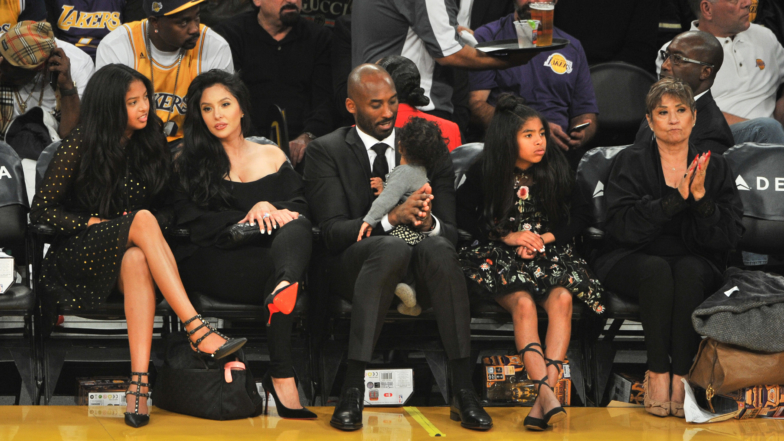 Who Are Kobe Bryant S Wife Vanessa And Their Four Daughters Access