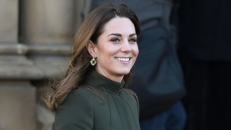 Kate Middleton Looks Elegant In McQueen Coat And Zara Dress For First Royal Engagement Of 2020 - See All The Pics!