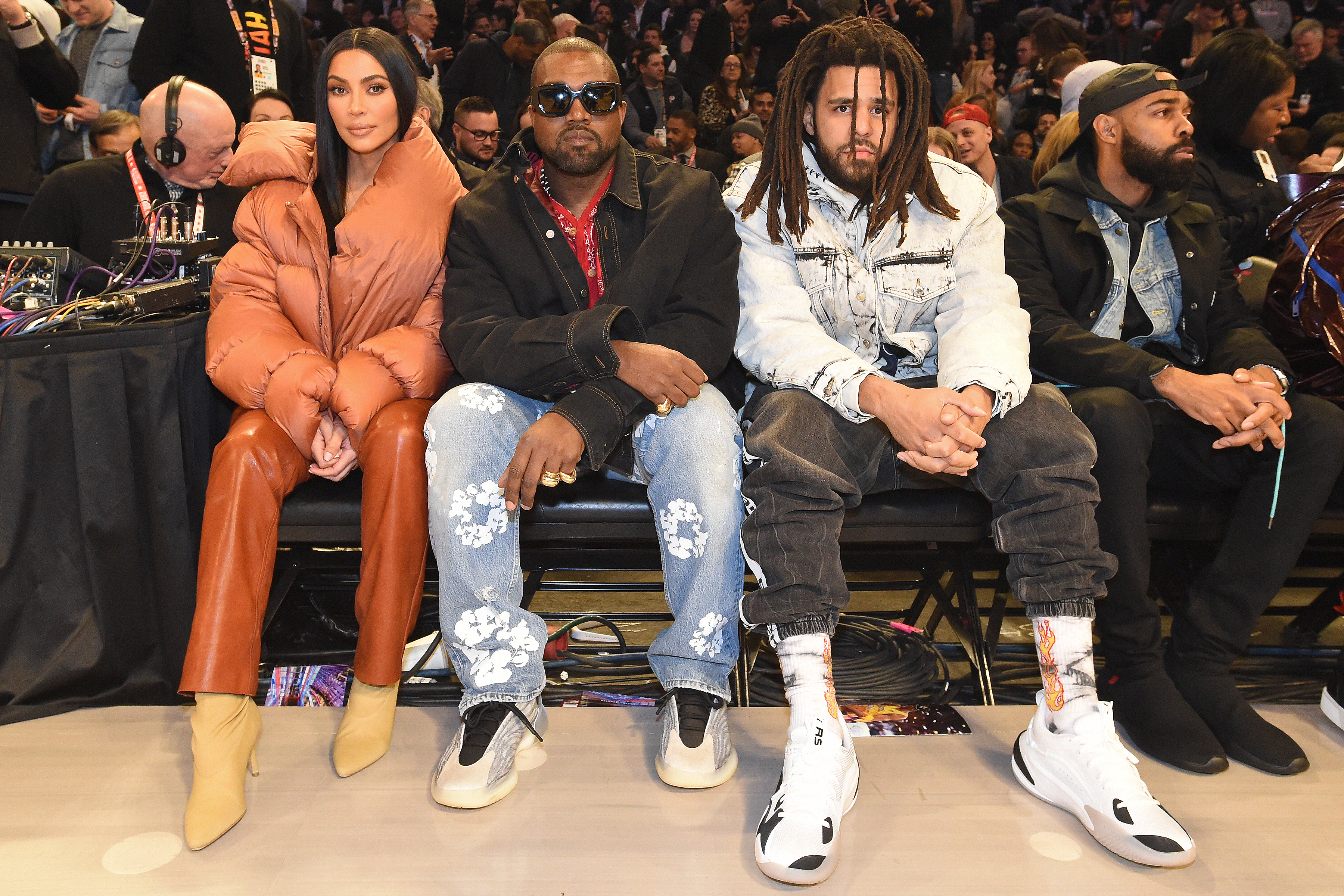 Kim Kardashian And Kanye West Have Date Night At Nba All Star Game Access