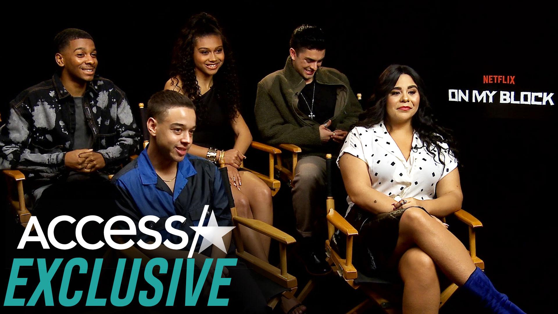 On My Block Cast Dishes On Crazy Season 3 Drama Hilarious