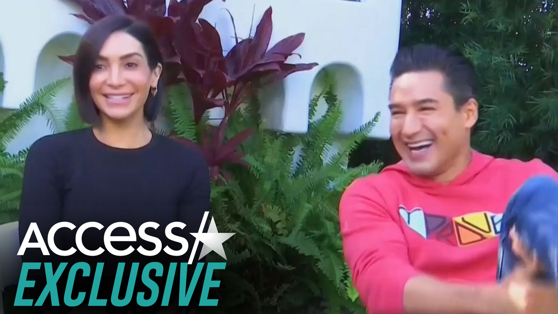 Mario Lopez Wife Courtney S Broadway Love Story Access