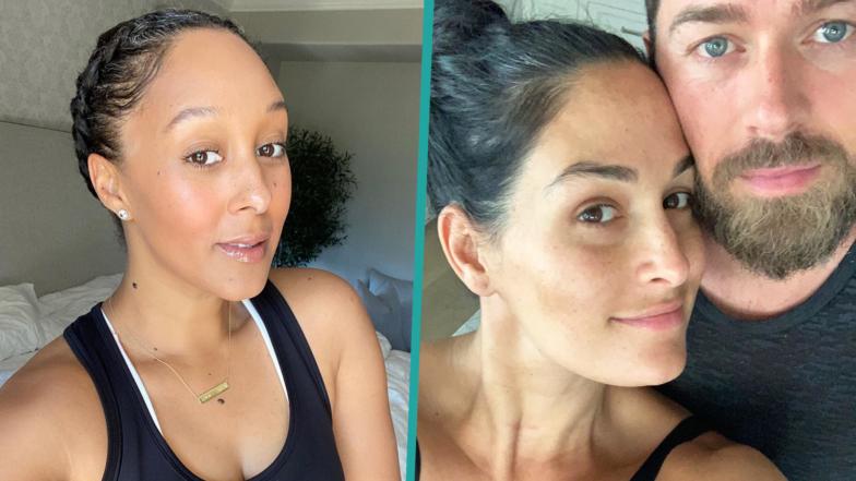 Celebrities Embracing Gray Hair During Quarantine