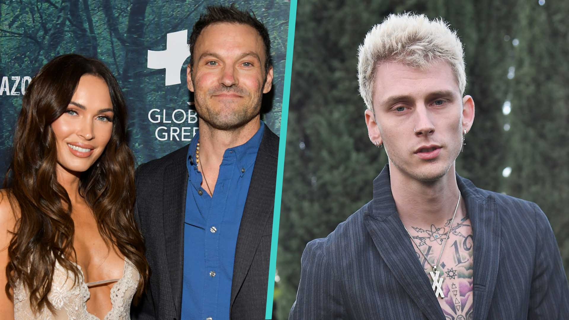 Megan Fox Spotted With Machine Gun Kelly Right Before