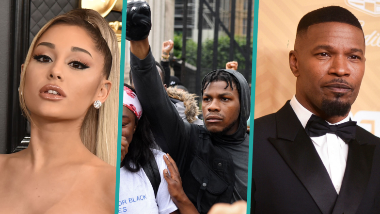 George Floyd Protests Joined By Jamie Foxx, Ariana Grande, John Boyega & More Stars