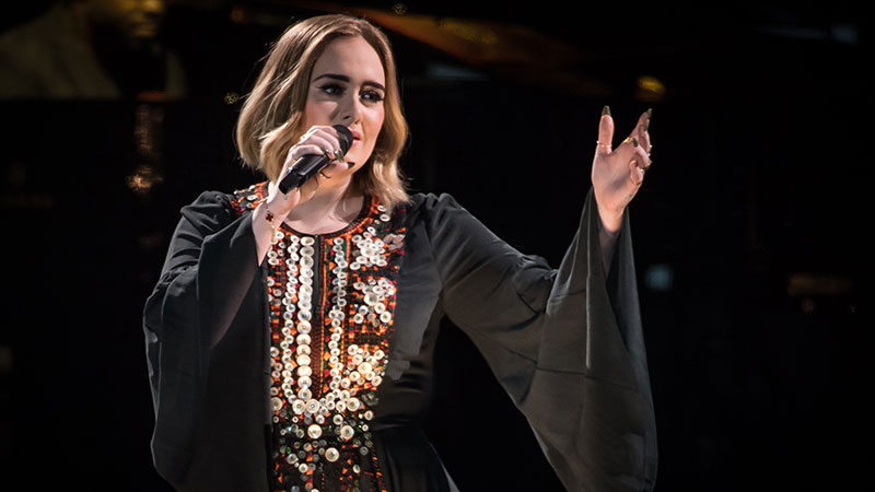 Adele re-wears her dress from 2016 Glastonbury performance