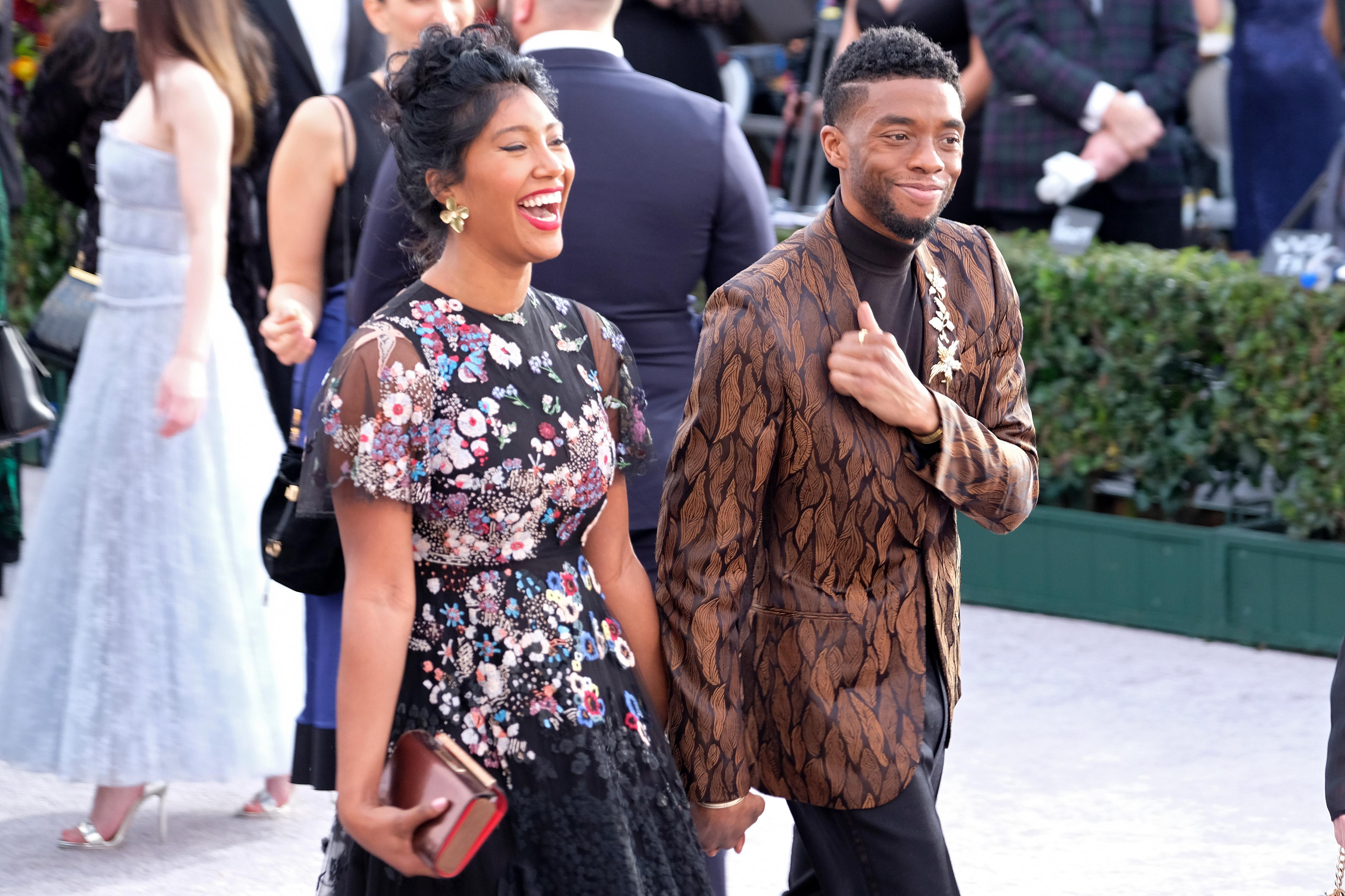 Chadwick Boseman And Taylor Simone Ledward: Their Love In Pics thumbnail