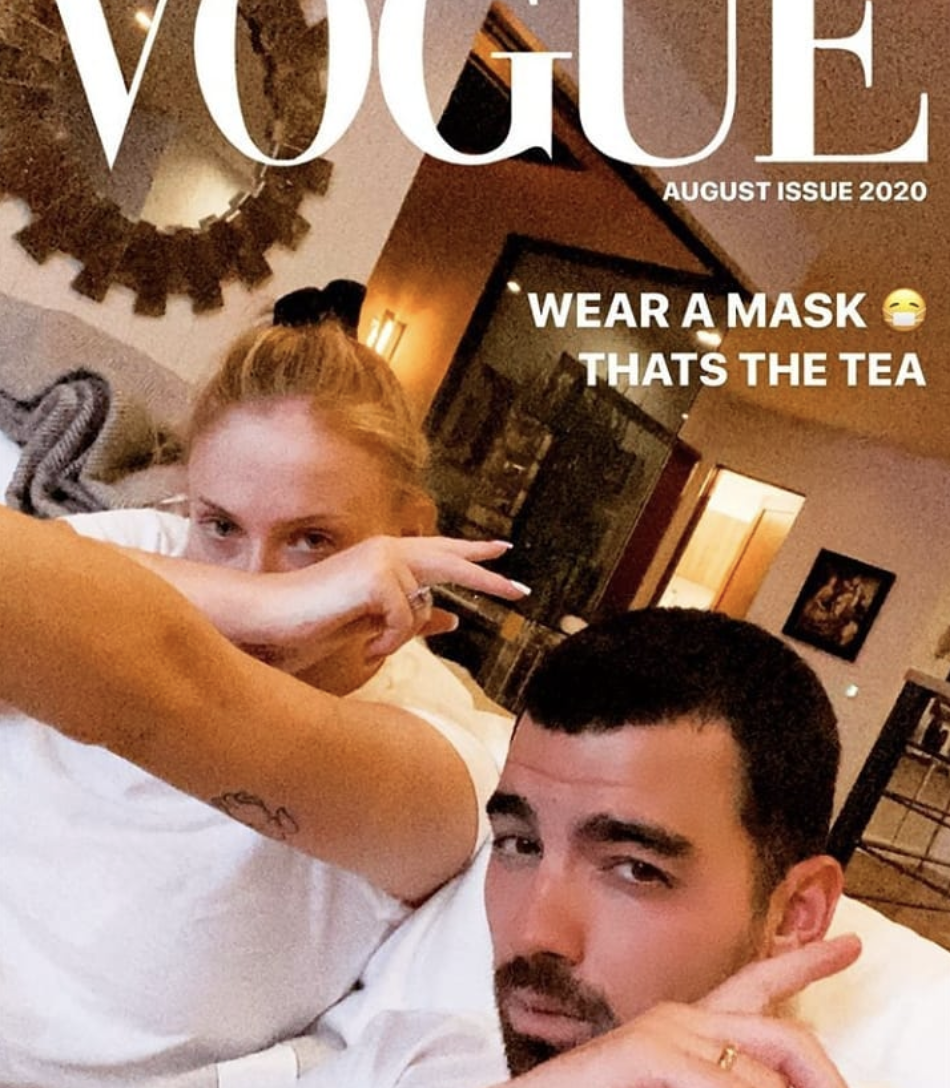 Joe Jonas and Sophie Turner share first picture since daughter's birth