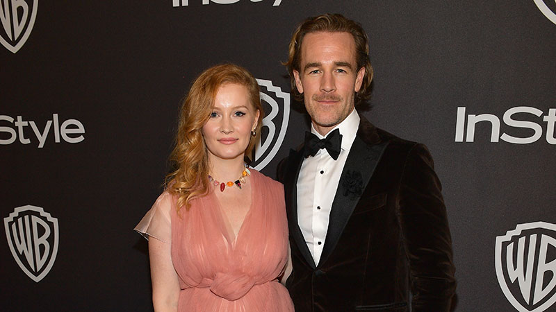 James Van Der Beek And Family Leave Los Angeles: 'On To The Next Big Adventure!'