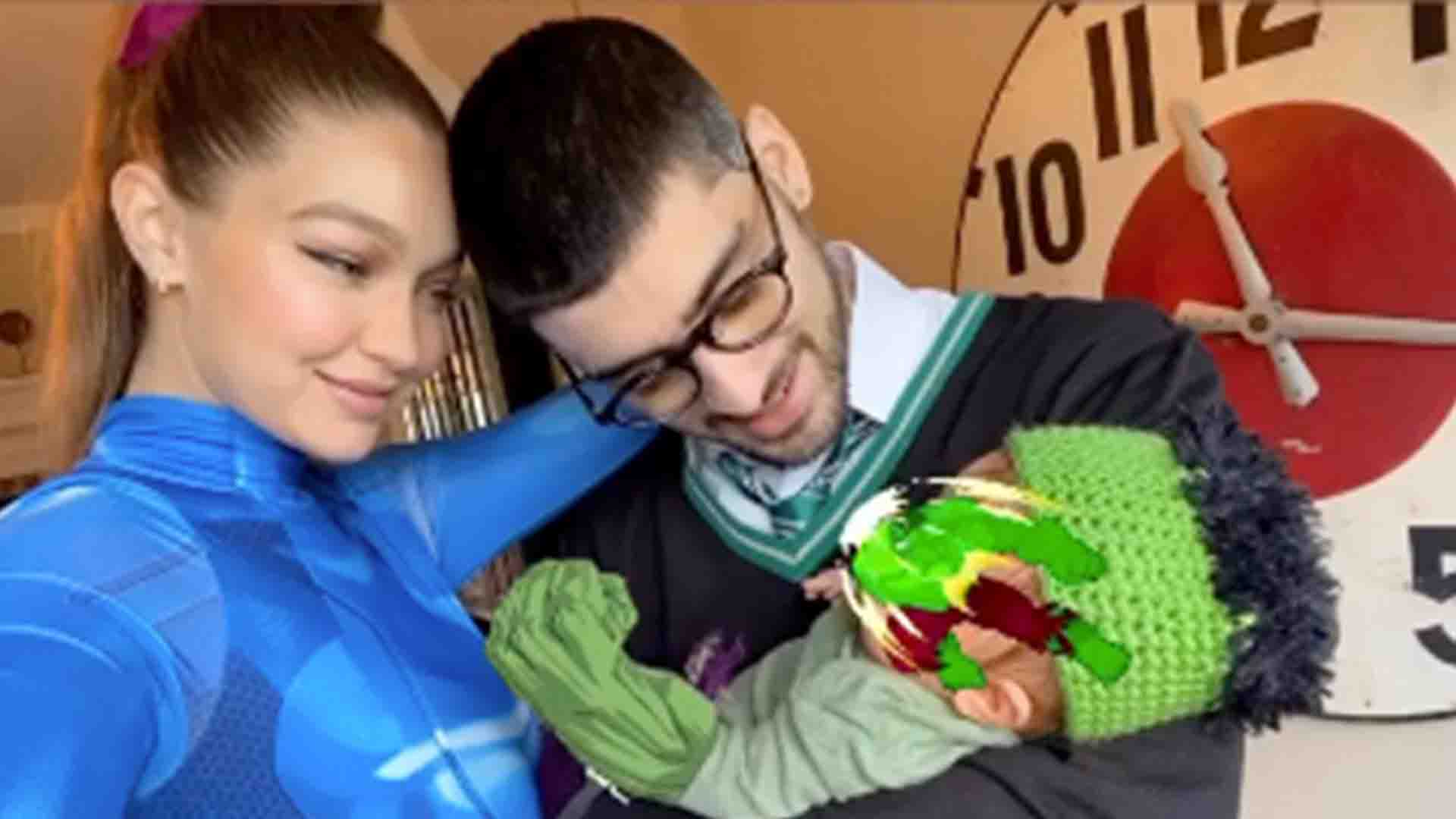 Gigi Hadid & Zayn Malik Share First Family Photo with Their Baby Daughter