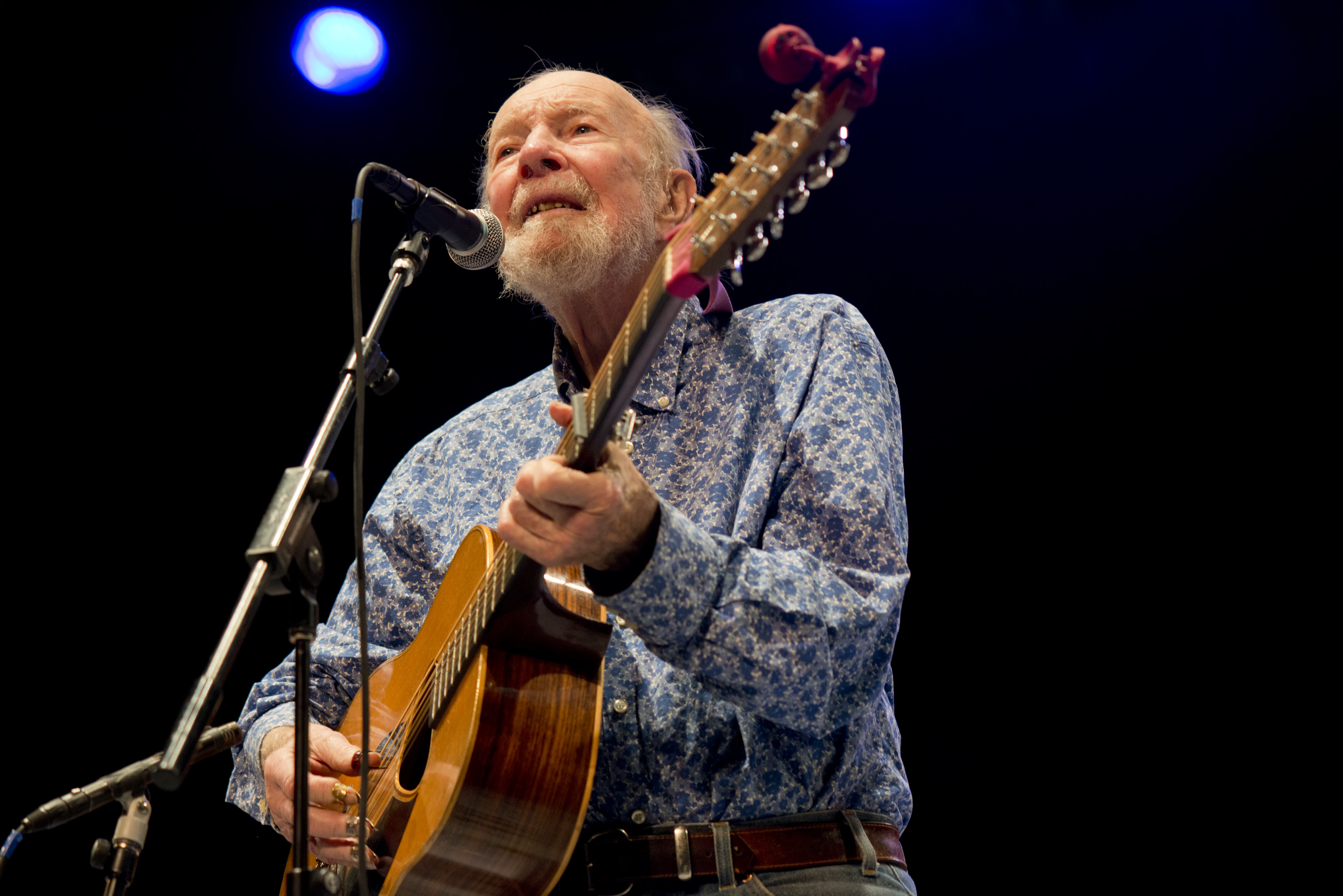 Folk Singer Pete Seeger Dies At Age 94 | Access Online