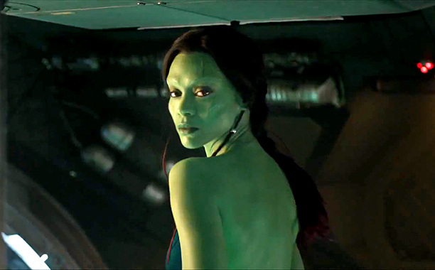 Guardians Of The Galaxy Why Zoe Saldana Almost Turned Down