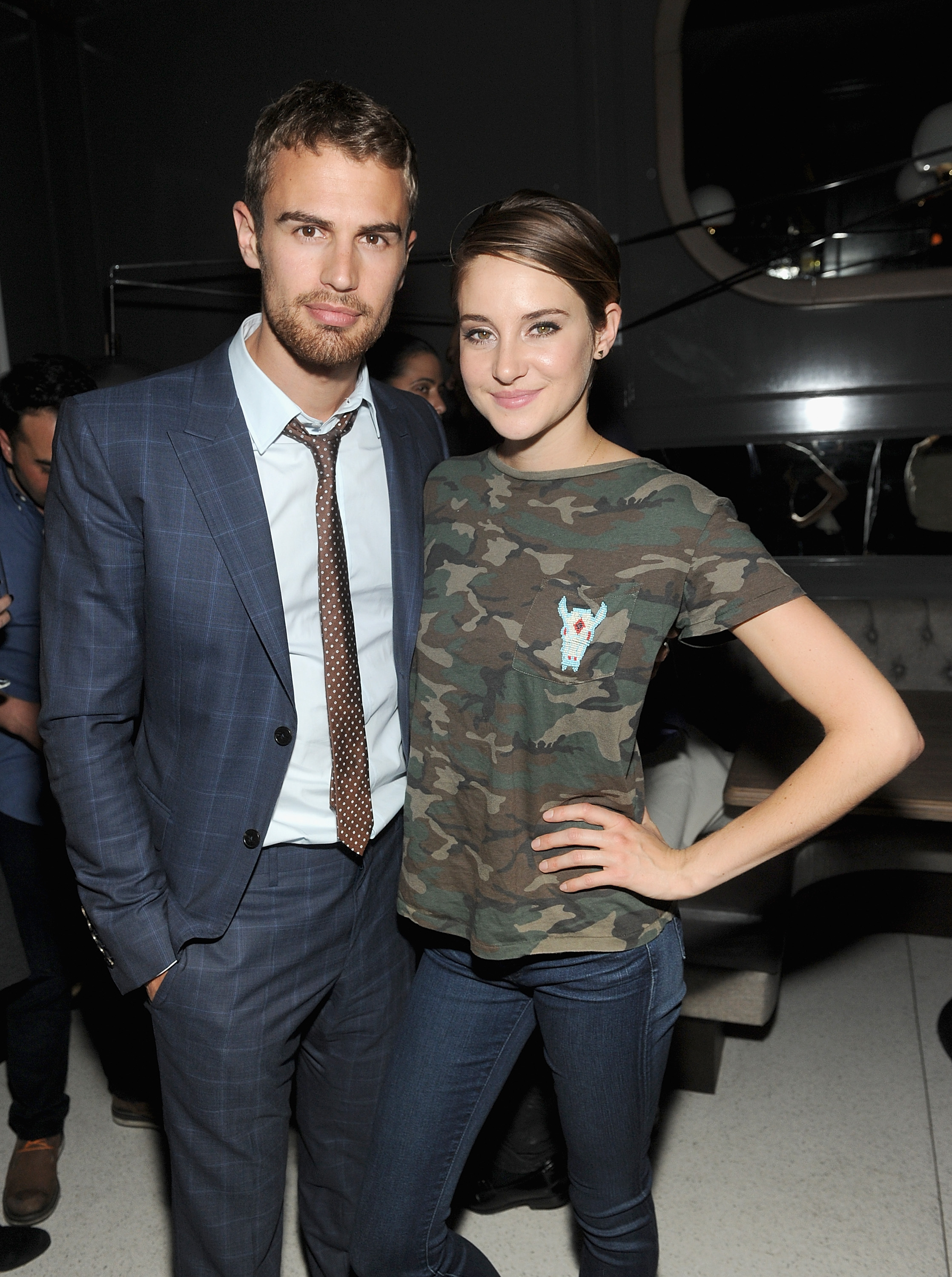 Together shailene theo and james woodley Insurgent's Theo