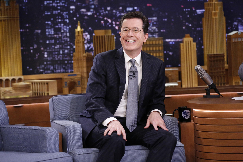 Colbert cheers flamethrower kamala harris for incinerating debate opponents