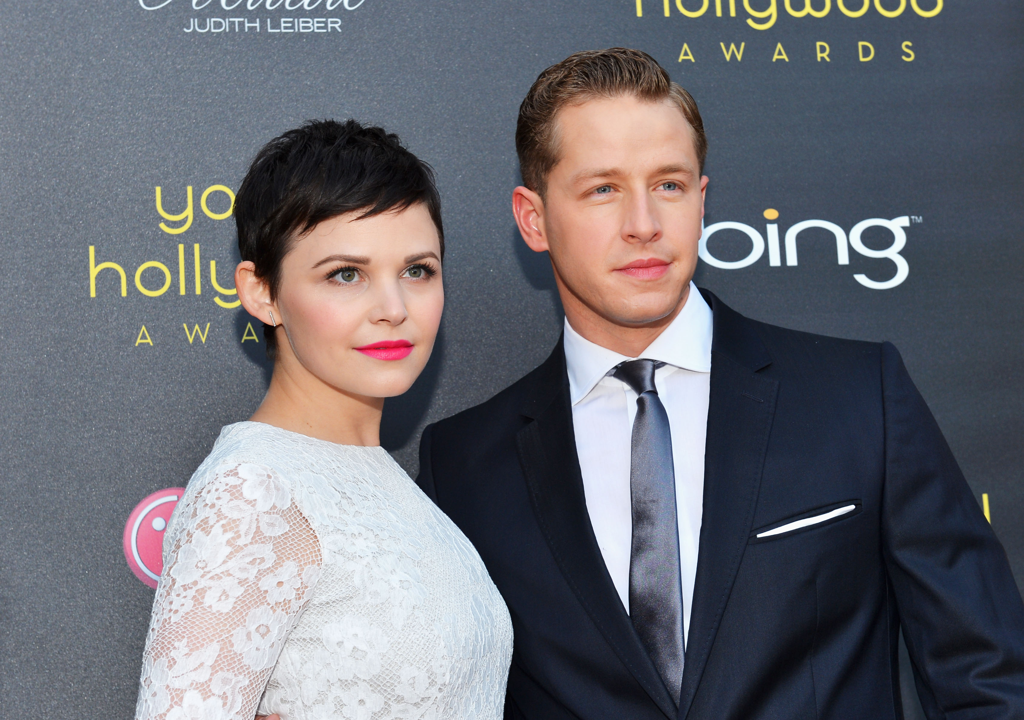 Ginnifer Goodwin and Josh Dallas arrive at 14th Annual Young Hollywood Awards