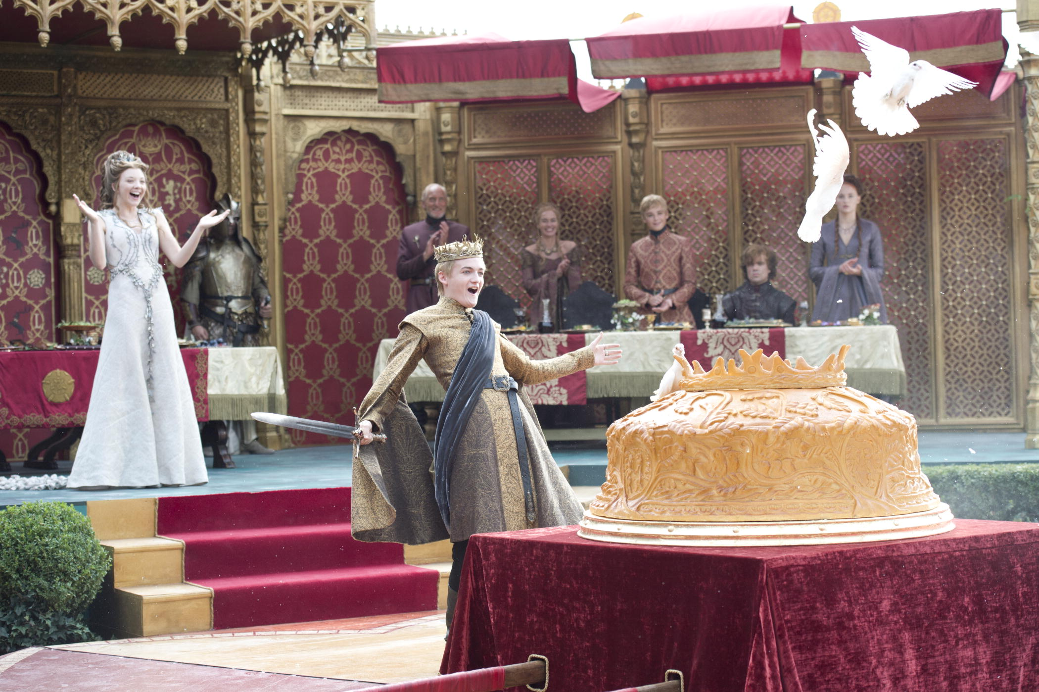 The Purple Wedding.Game Of Thrones Scenes From The Purple Wedding Access Online