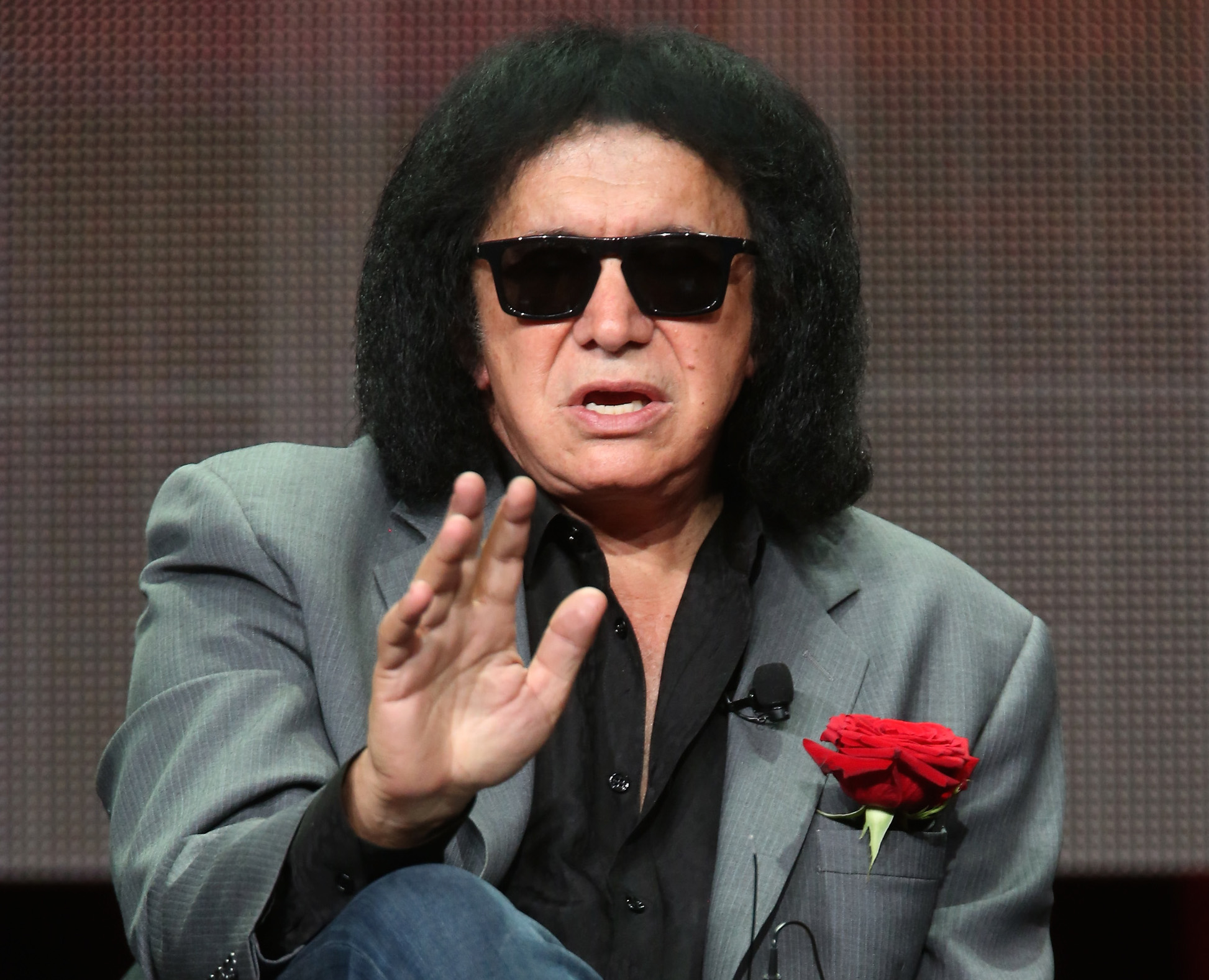 Gene Simmons leaves internet divided after putting ice in cereal