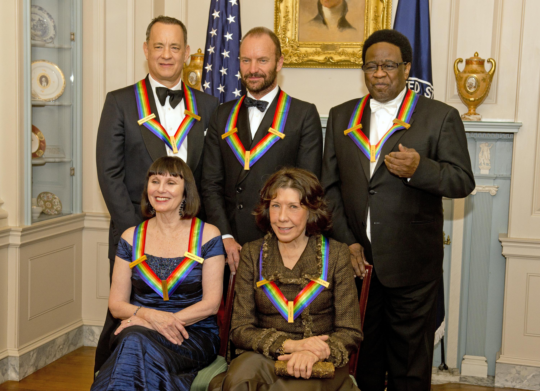 Tom Hanks, Lily Tomlin, Sting, Al Green, Patricia McBride ...