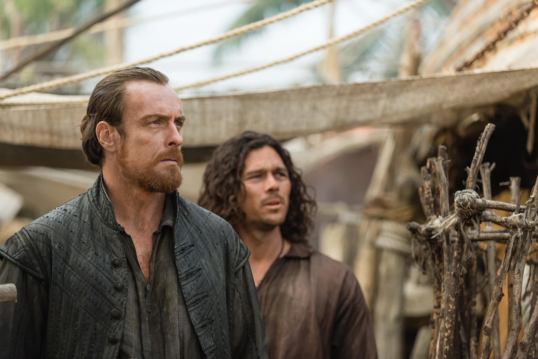 Black Sails Cast On Ned Low Threat Vane Vs Flint Max