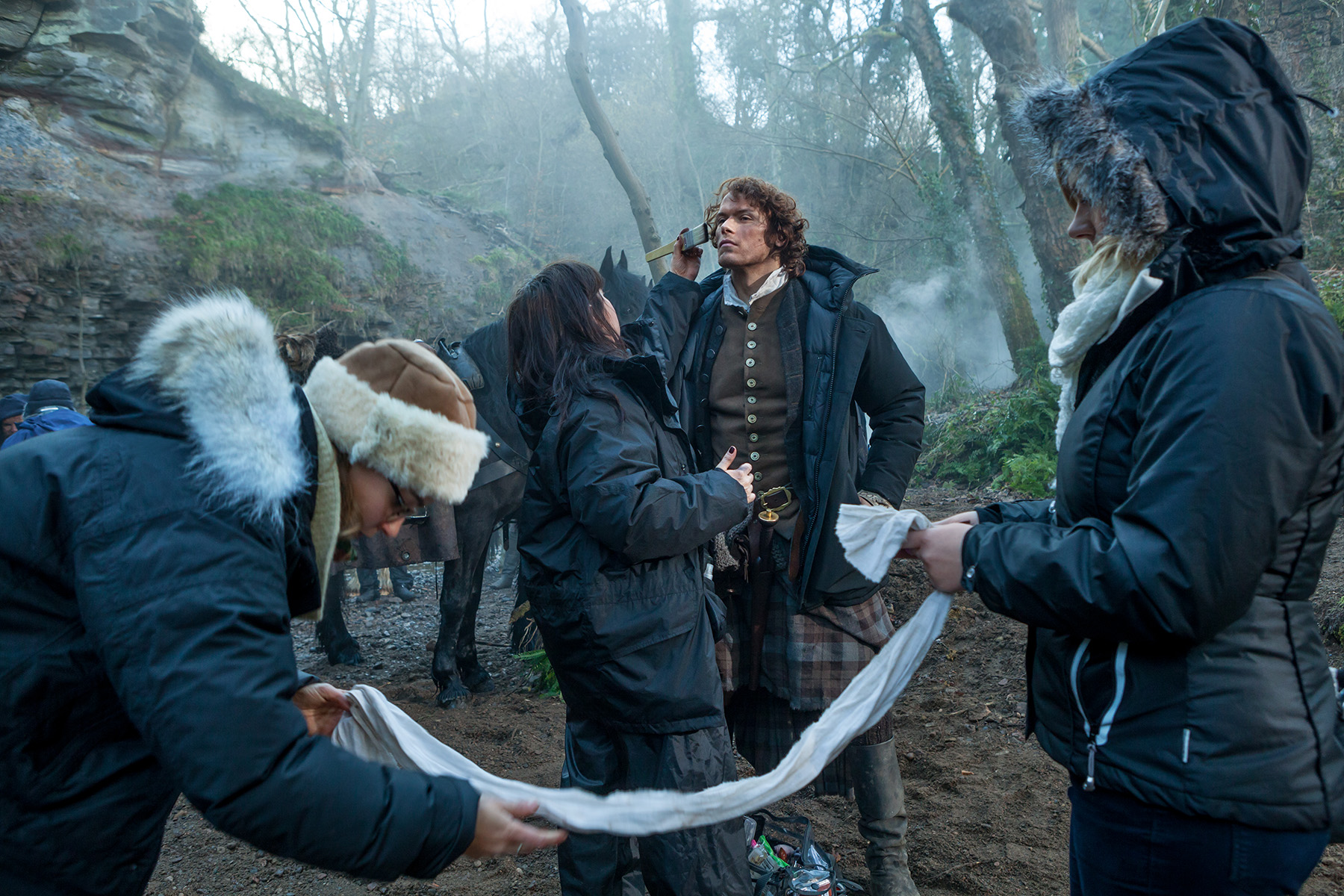 Outlander': Behind the Scenes Of Season 1, Part 2 | Access