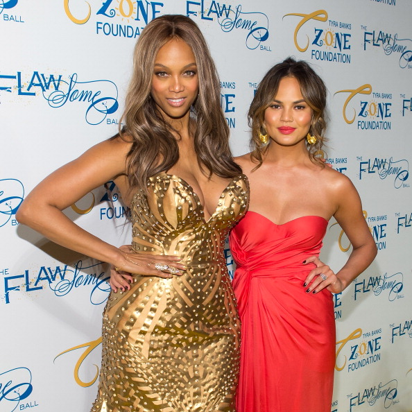 Tyra Banks Family: Tyra Banks & Chrissy Teigen Talk Fertility Issues