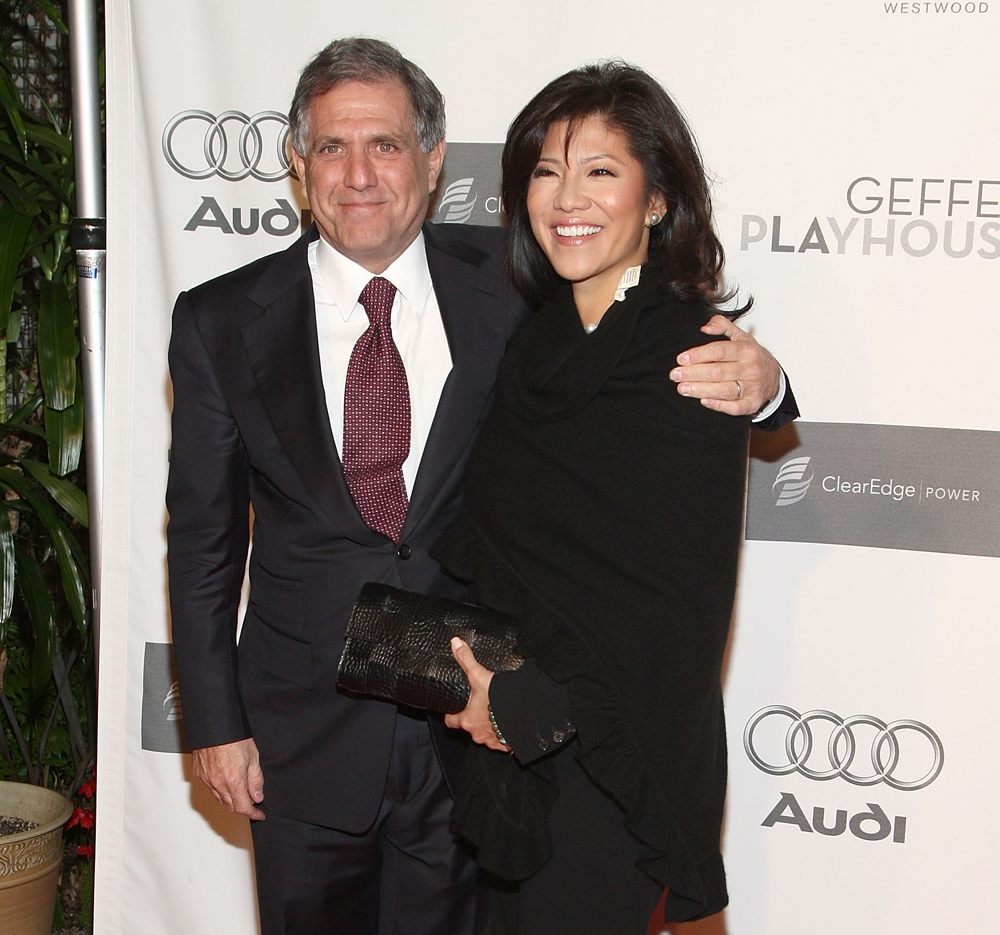 Leslie-Moonves-and-TV-host-Julie-Chen-arrive-at-the-7th-Annual-Backstage-'At-The-Geffen'-Gala-on-March-9-2009-at-the-Geffen-Playhouse-in-Westwood-California