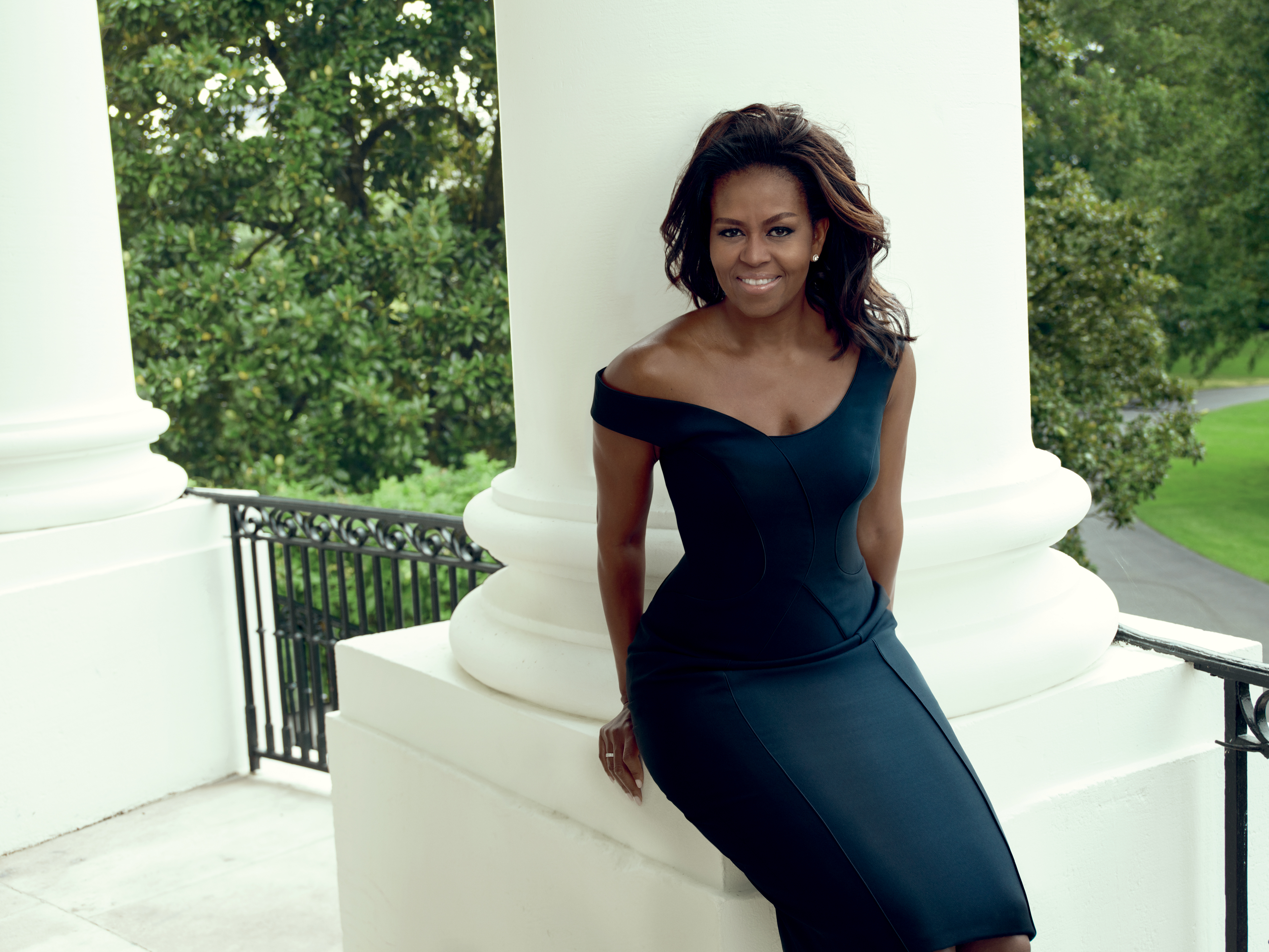 Michelle Obama in the December 2016 issue of Vogue