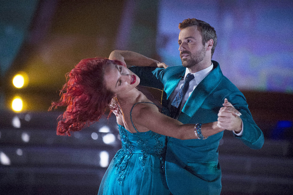 Charlie White and Sharna Burgess preform the Tango on week