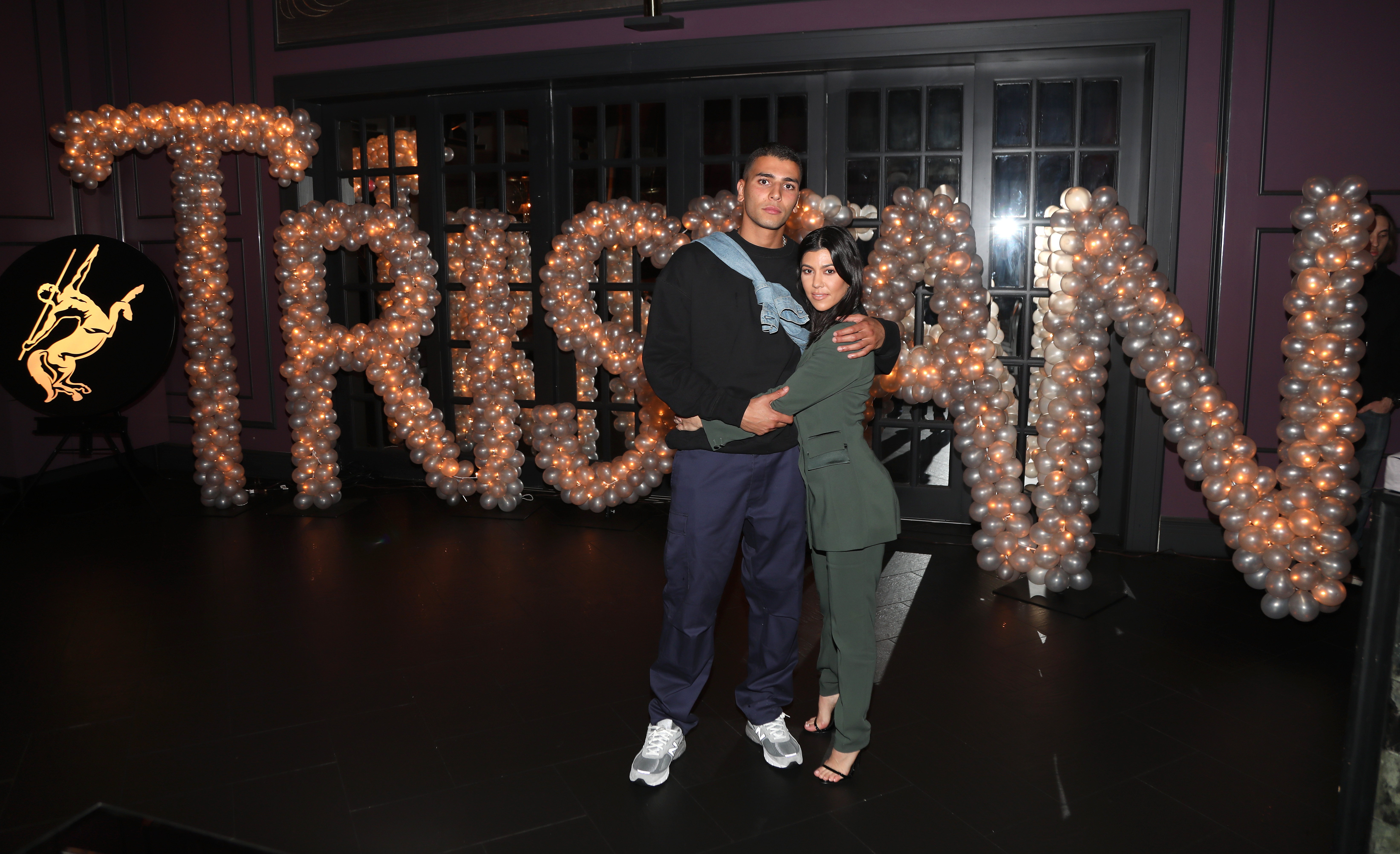 Tristan Thompson Birthday Dinner, Kourtney Kardashian, Younes Bendjima