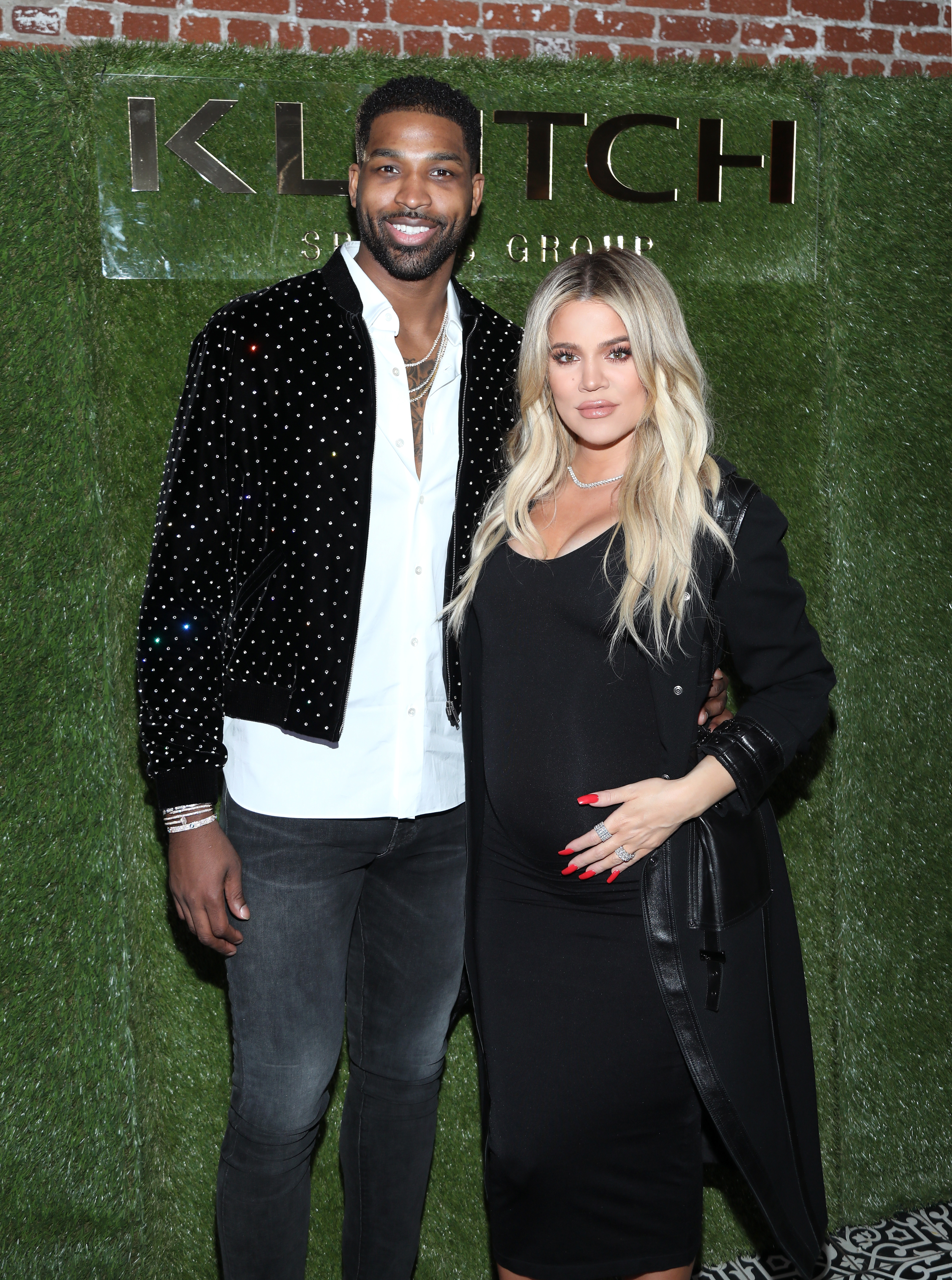 """Khloé Kardashian and Tristan Thompson attend the Klutch Sports Group """"The Game Is Every-Thing"""" Dinner presented by Remy Martin"""