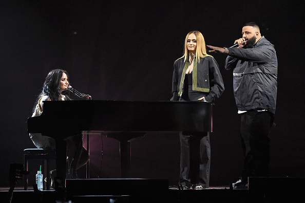 Demi Lovato, DJ Khaled, Kehlani 3-16-2018