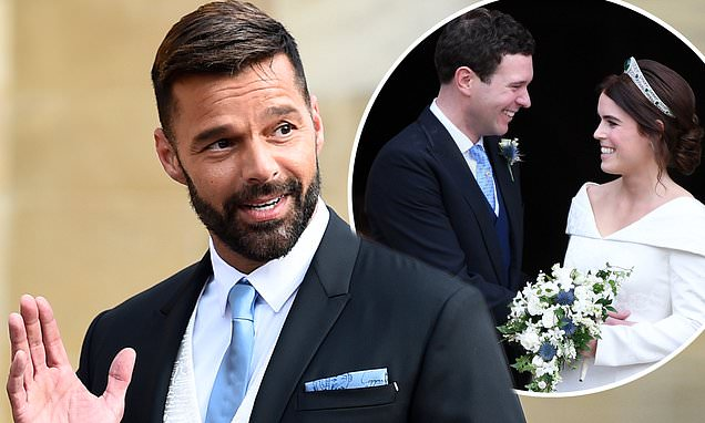 When Is The Royal Wedding 2018.Fans Were Shook When Ricky Martin Showed Up At Eugenie S Royal