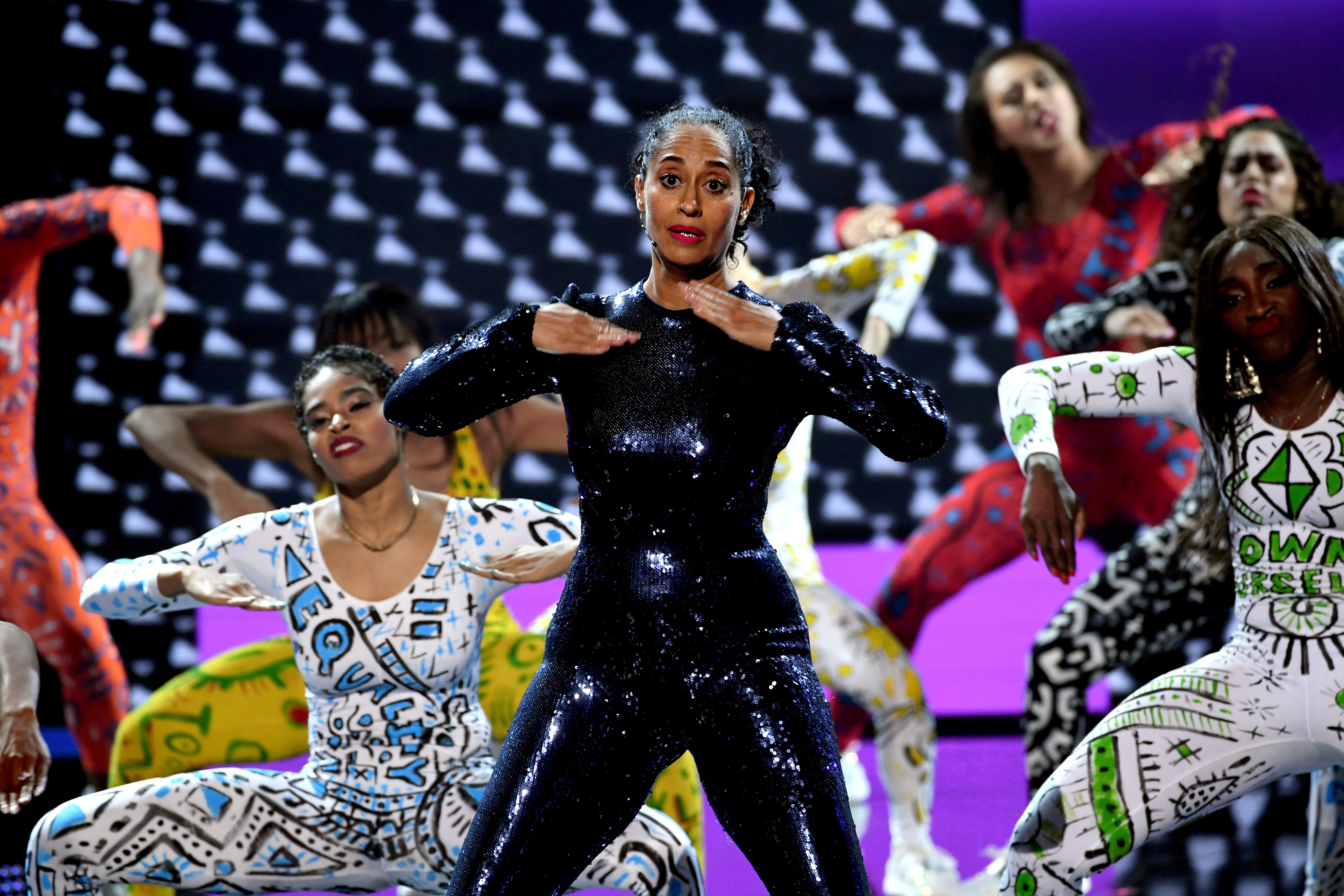 Tracee Ellis Ross performs