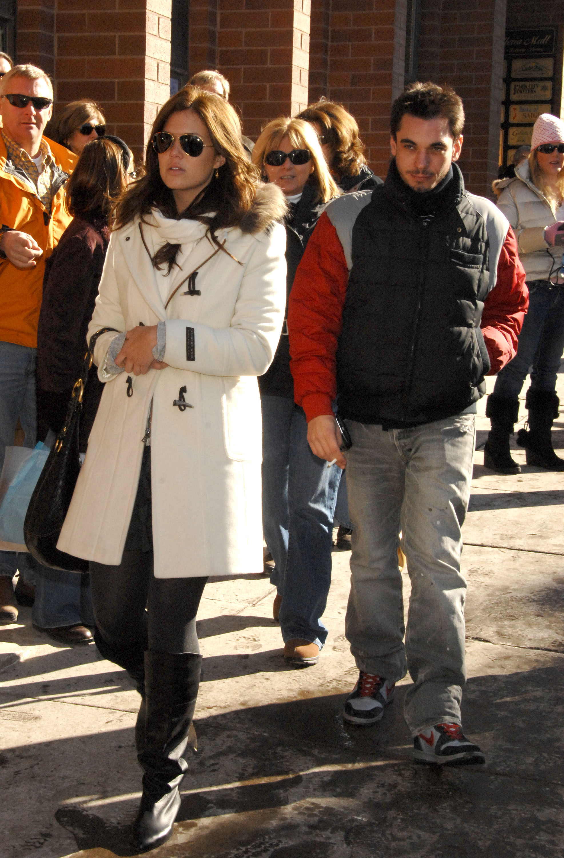 Mandy Moore and DJ AM during 2007 Park City – Seen Around Town – Day 4 in Park City, Utah