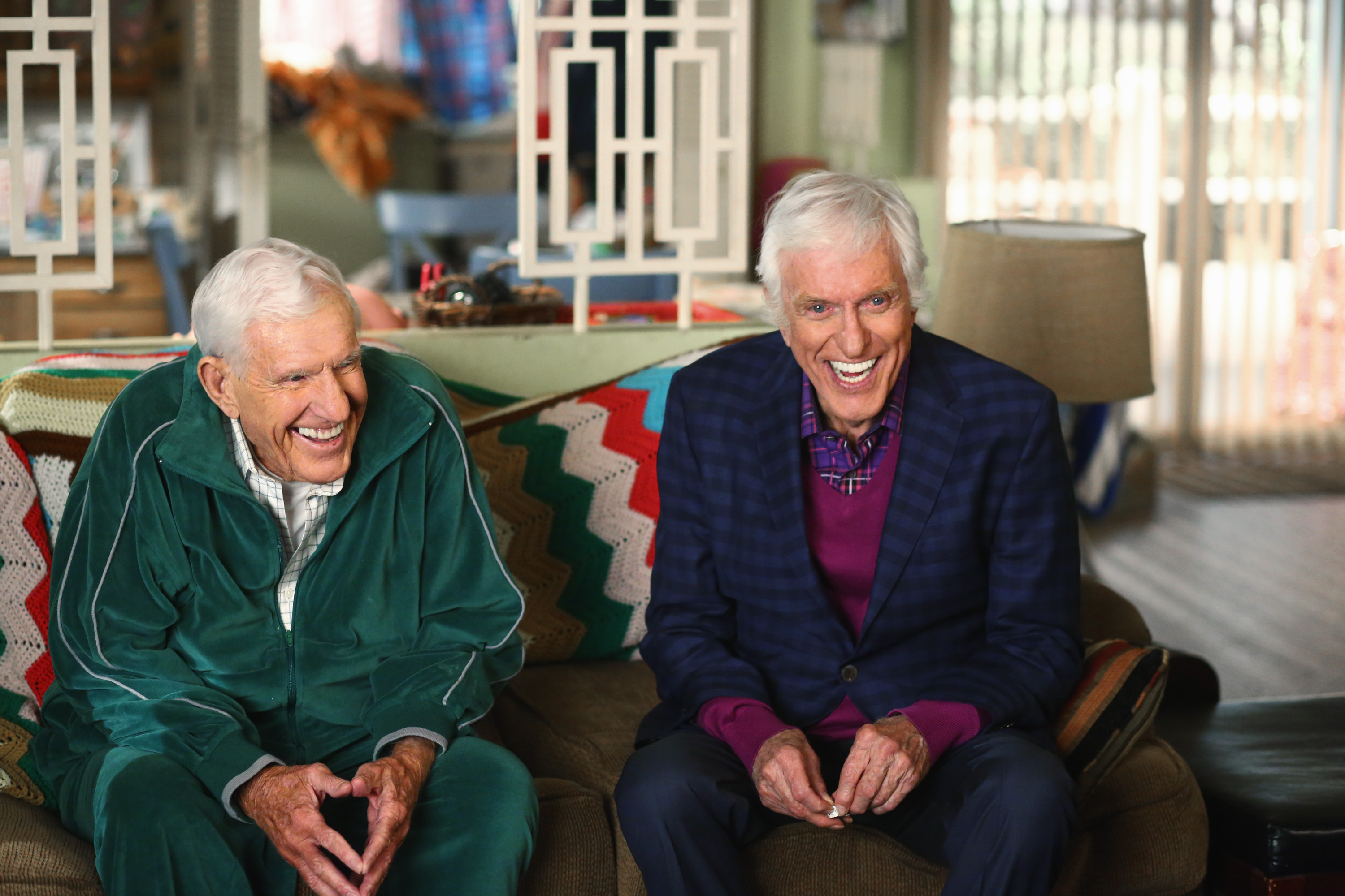 """Dick Van Dyke and Jerry Van Dyke On """"The Middle"""""""