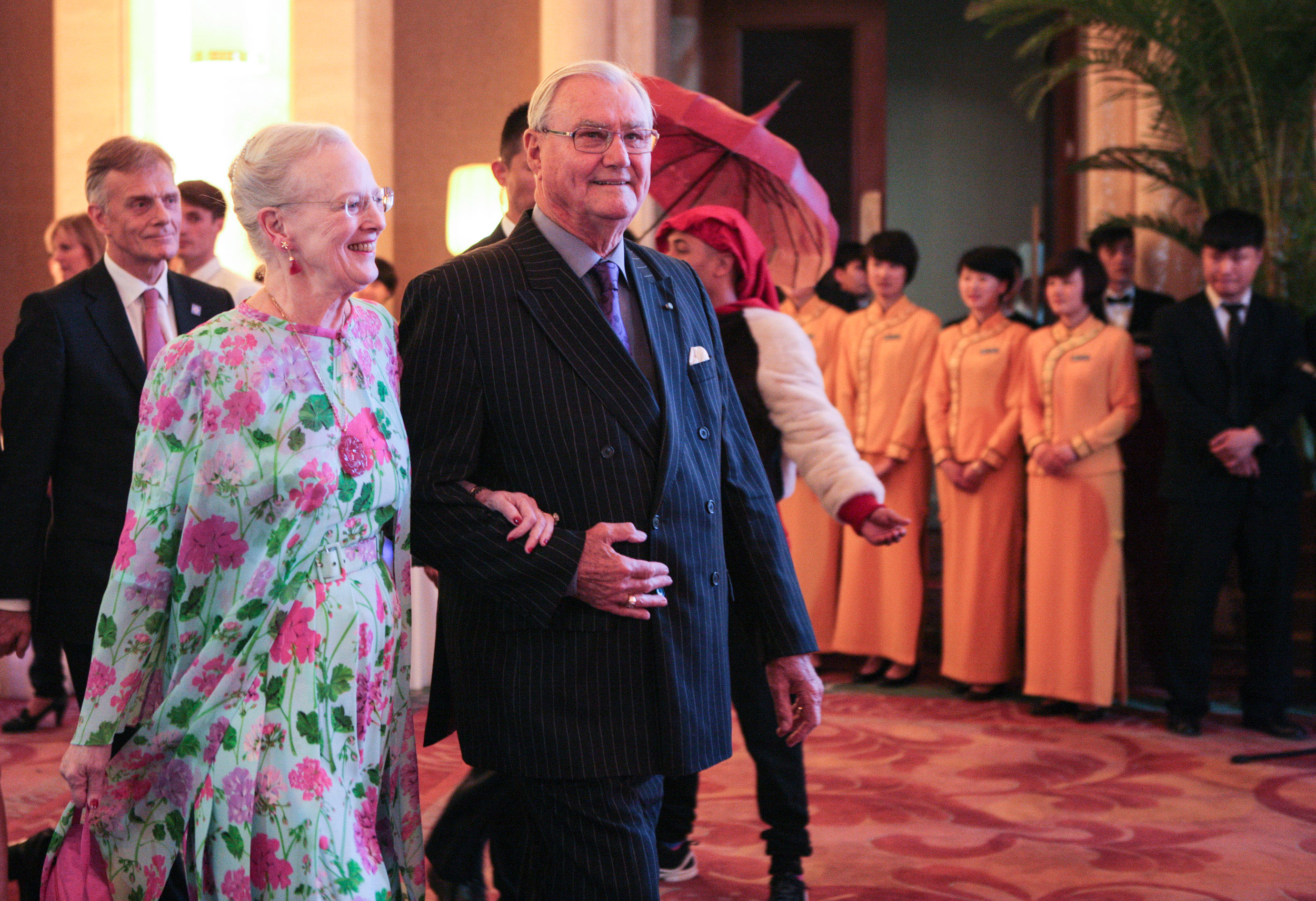 Queen Margrethe Of Denmark Visits China