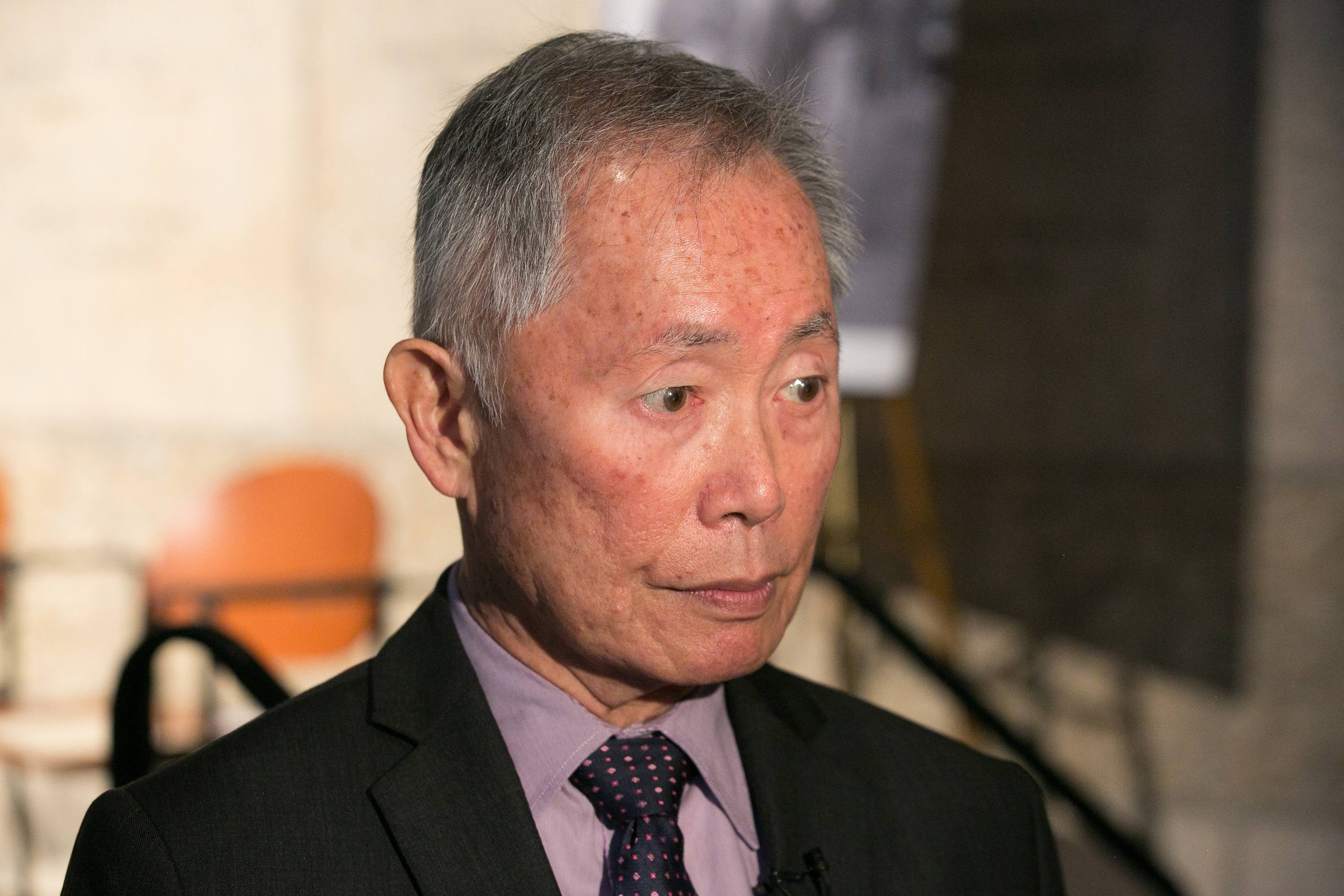 George Takei Attends Press Conference