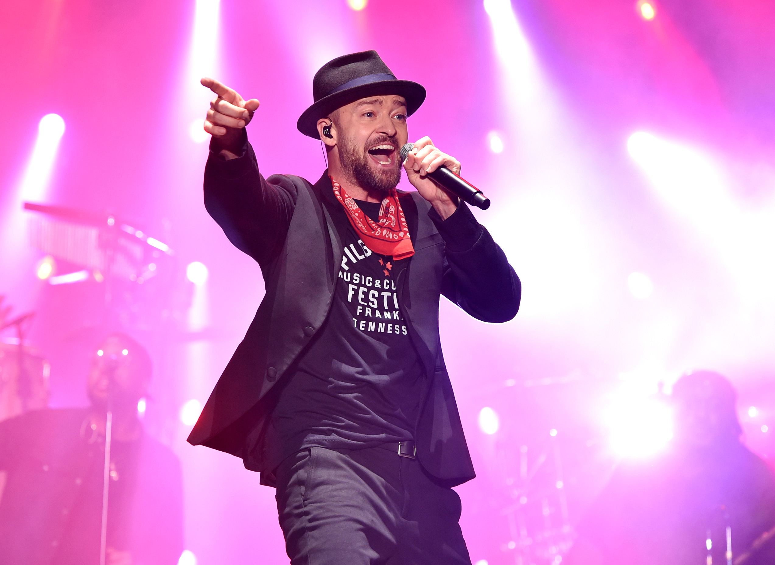 Justin-Timberlake-Performs-For-His-Home-State-Of-Tennessee