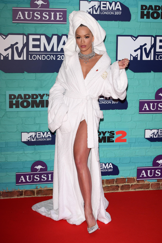 Rita Ora Attends 2017 MTV EMA Awards