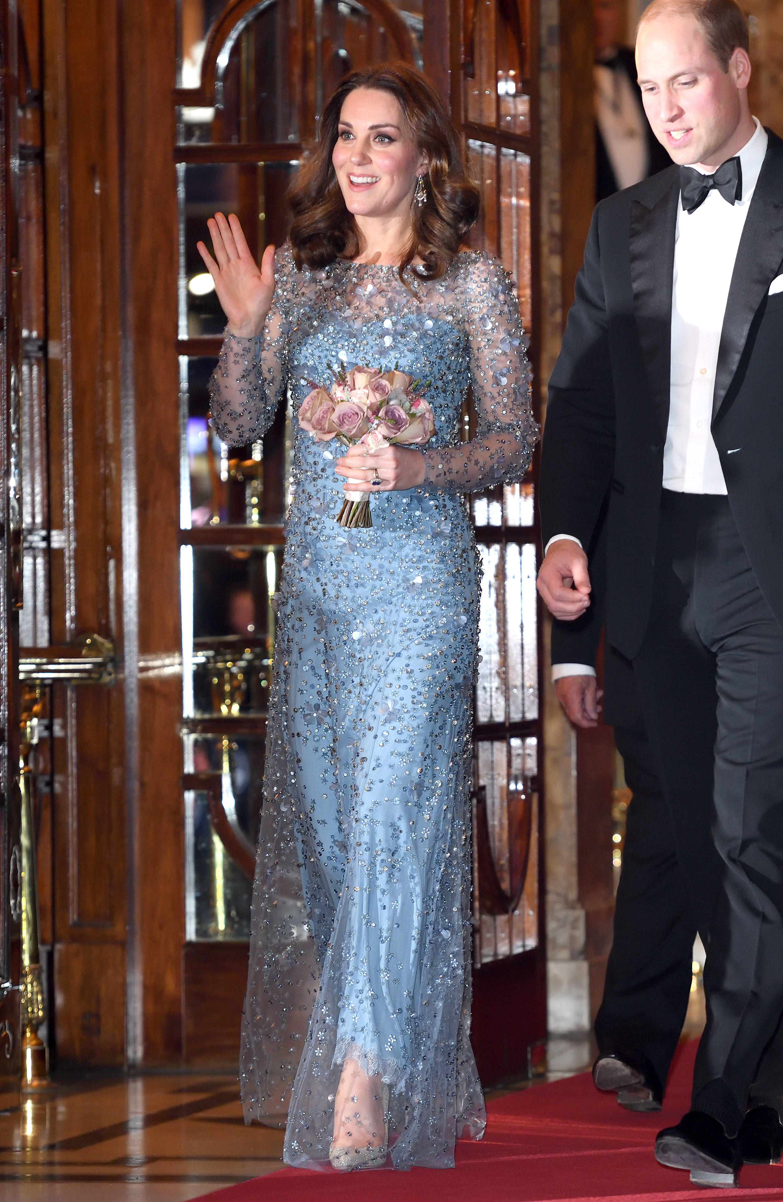 The Duke & Duchess Of Cambridge Attend The Royal Variety Performance