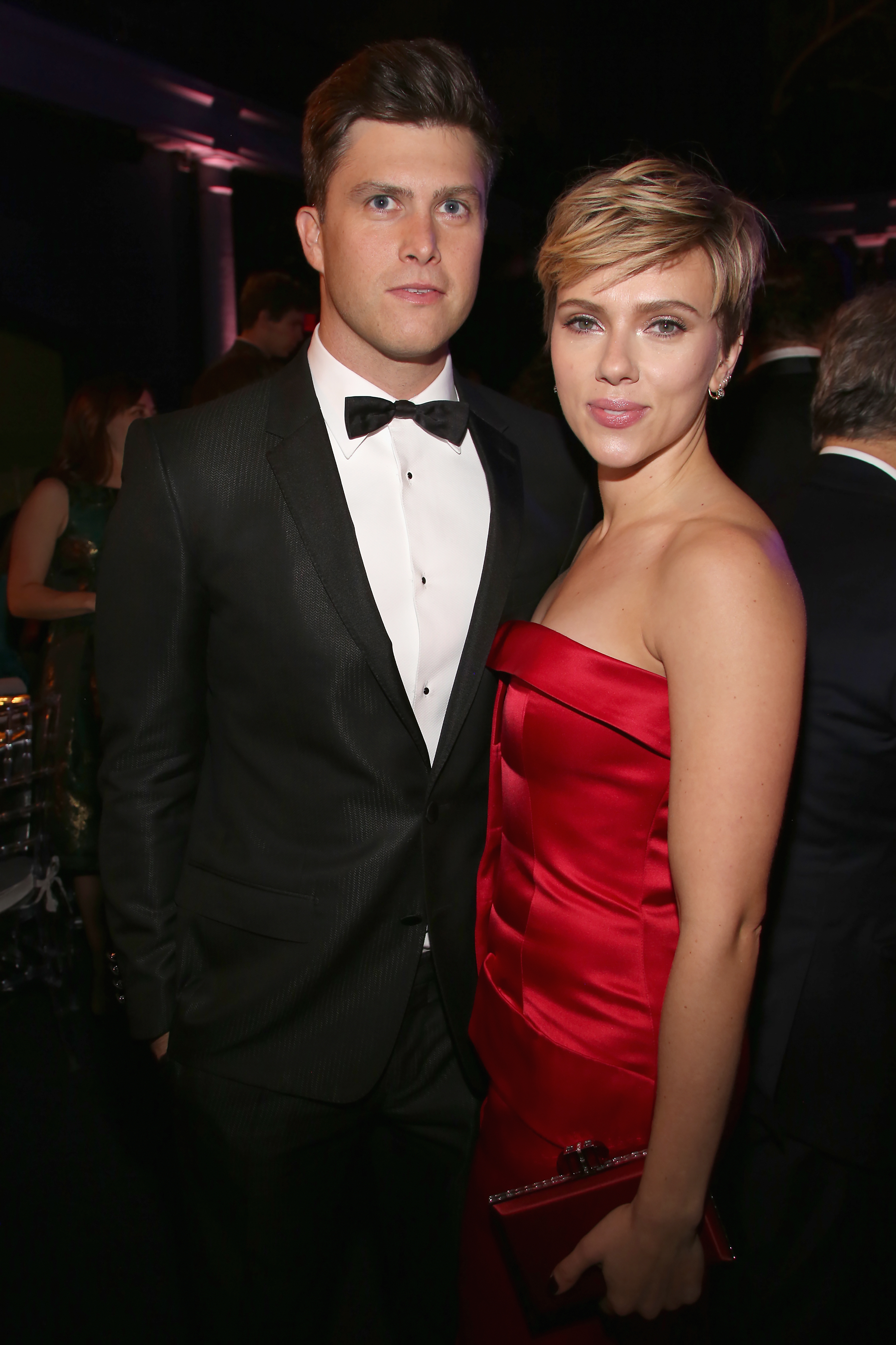 Scarlett-Johansson-SNL-Boyfriend-Colin-Jost-Make-Their-First-Public-Appearance-Together