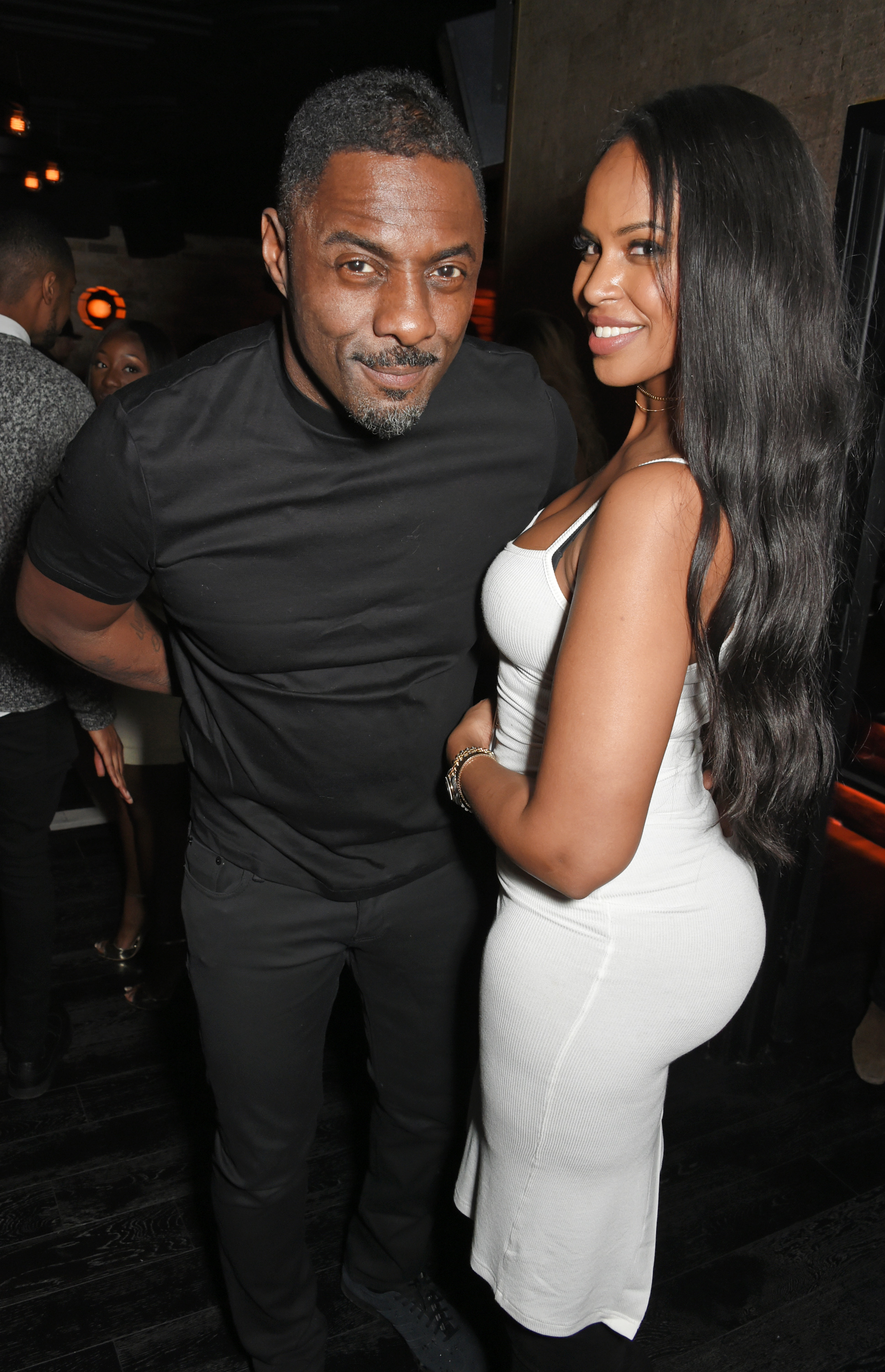 Image result for idris elba and sabrina dhowre